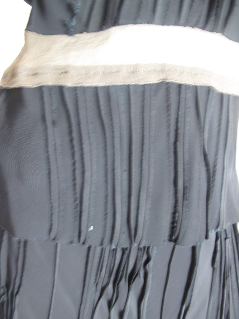 Prada silk top and skirt, 1990s For Sale 1