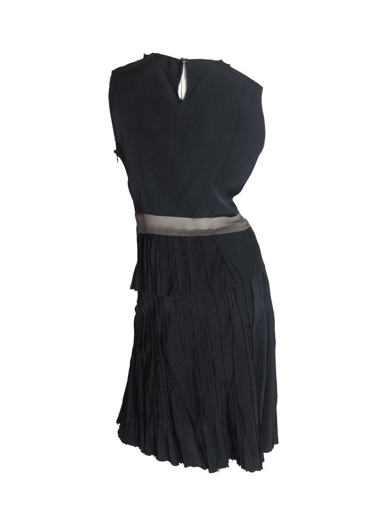 Prada silk top and skirt, 1990s For Sale 2