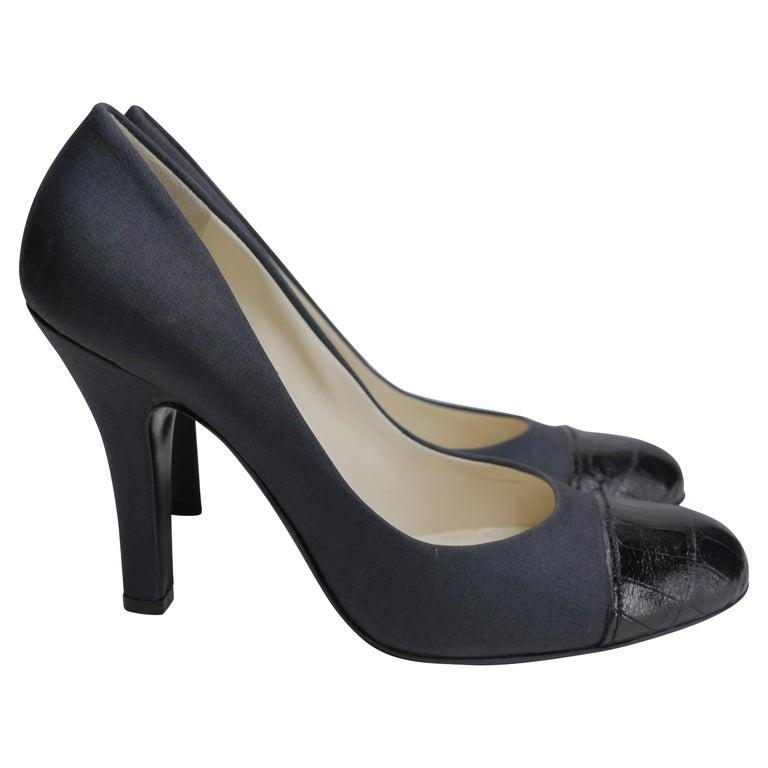 Prada Size 37 Black Pumps For Sale