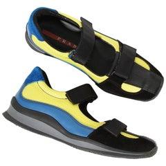 Prada Slip-On Velcro Sneaker