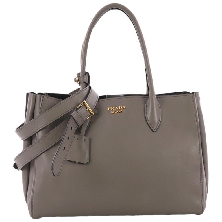 b0348dc1fec581 Prada Soft Bibliotheque Handbag City Calfskin Medium For Sale at 1stdibs