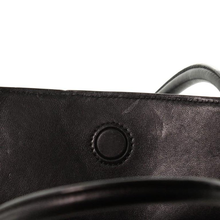 Prada Soft Bibliotheque Tote City Calfskin Large For Sale 4