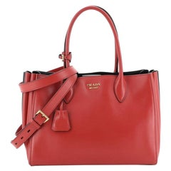 Prada  Soft Bibliotheque Tote City Calfskin Medium