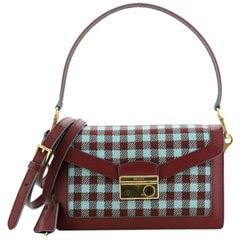 Prada Sound Bag Jacquard Small