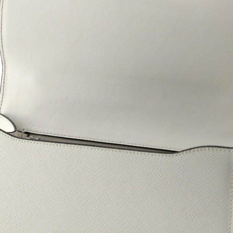 Prada Sound Chain Shoulder Bag Saffiano Leather Small For Sale 2
