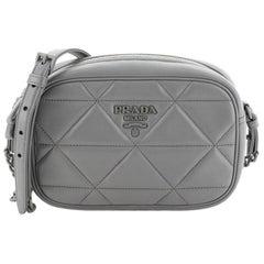 Prada  Spectrum Zip Shoulder Bag Quilted Leather Small