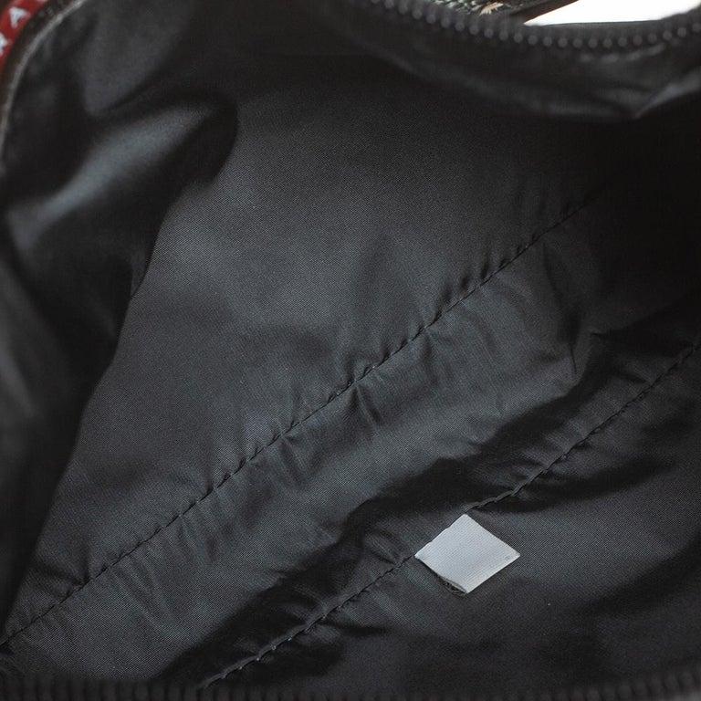 Prada Sport Black Nylon Baguette For Sale 4