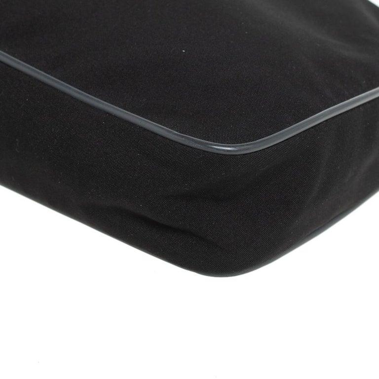 Prada Sport Black Nylon Baguette For Sale 5