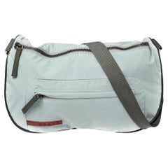 Prada Sport Blue Nylon Crossbody Bag