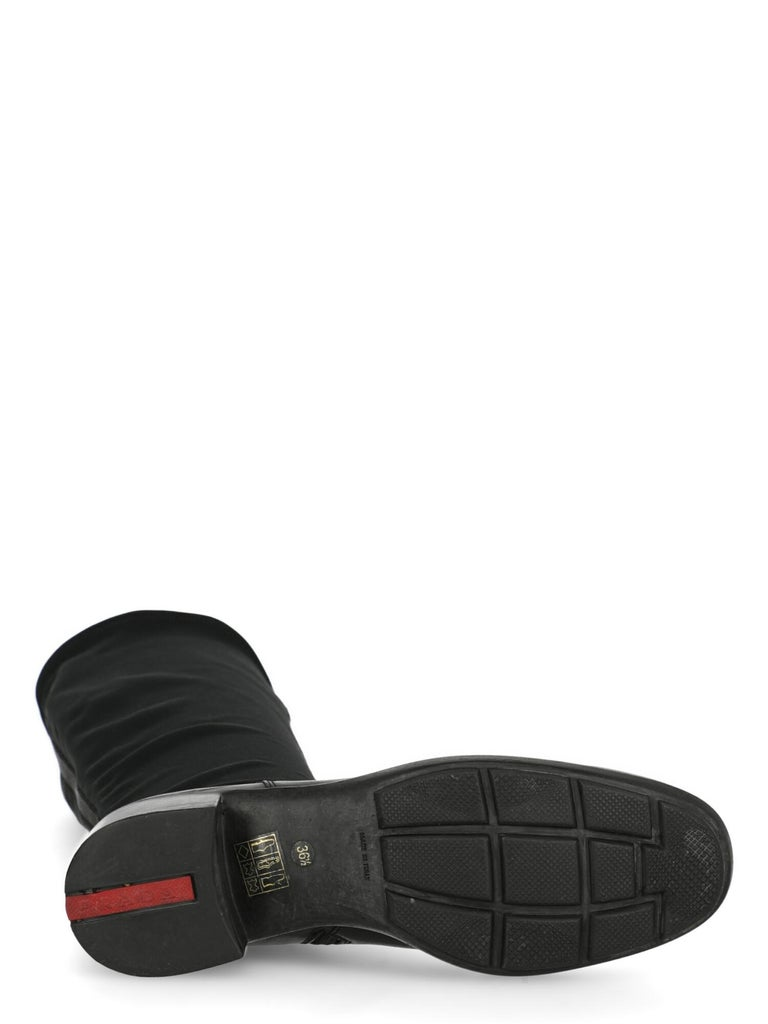 Women's Prada Sport  Women   Boots  Black Fabric EU 36.5 For Sale