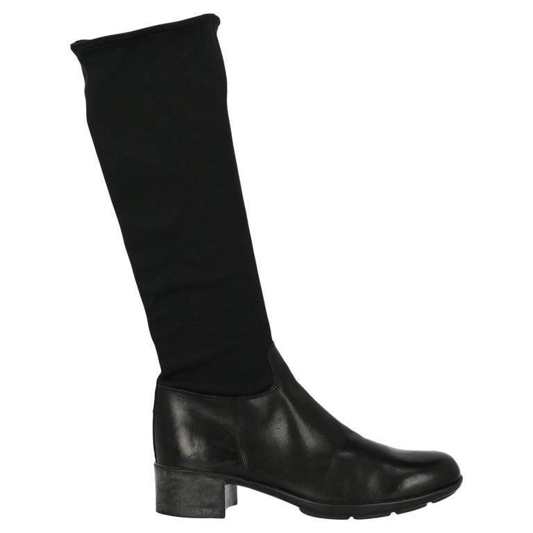 Prada Sport  Women   Boots  Black Fabric EU 36.5 For Sale