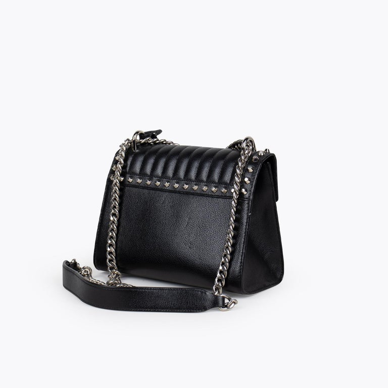 Prada Studded Chain Crossbody Bag In Excellent Condition For Sale In Sundbyberg, SE