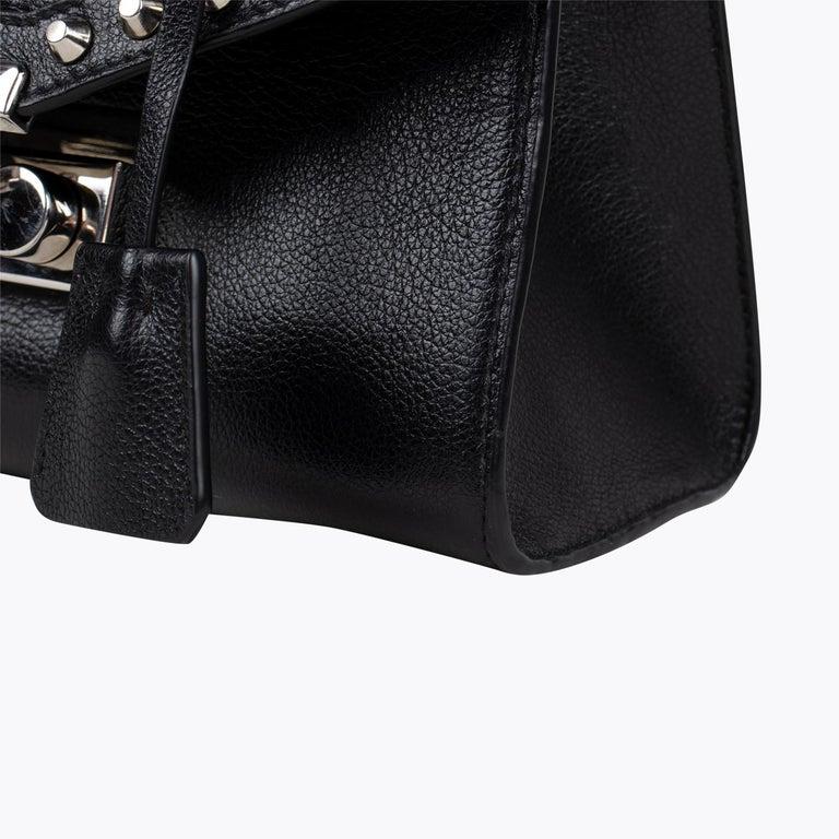 Prada Studded Chain Crossbody Bag For Sale 3