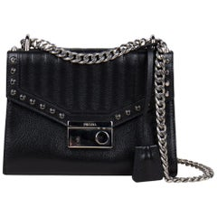 Prada Studded Chain Crossbody Bag