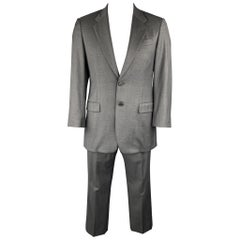 PRADA Suit - US 40 Regular Gray Wool Notch Lapel Men's Suit  Retail: $1,800.00