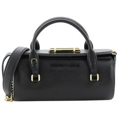 Prada Sybille Barrel Bag Saffiano Leather Mini