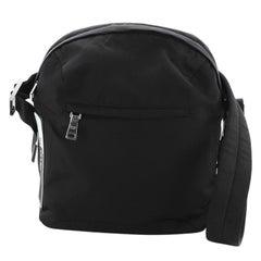 Prada Technical Zip Messenger Bag Tessuto Small