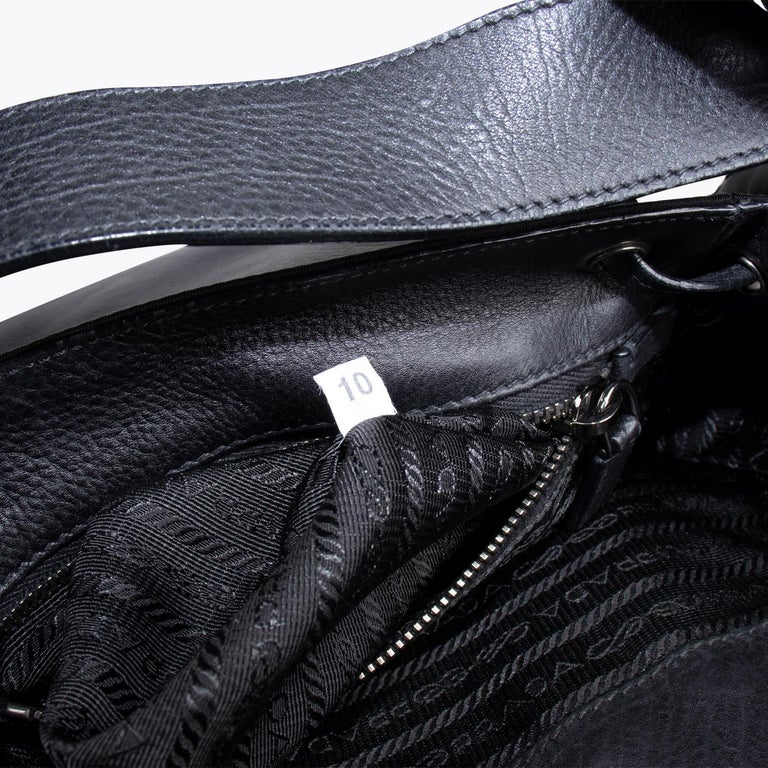 Prada Tessuto Calf Crossbody Bag 5
