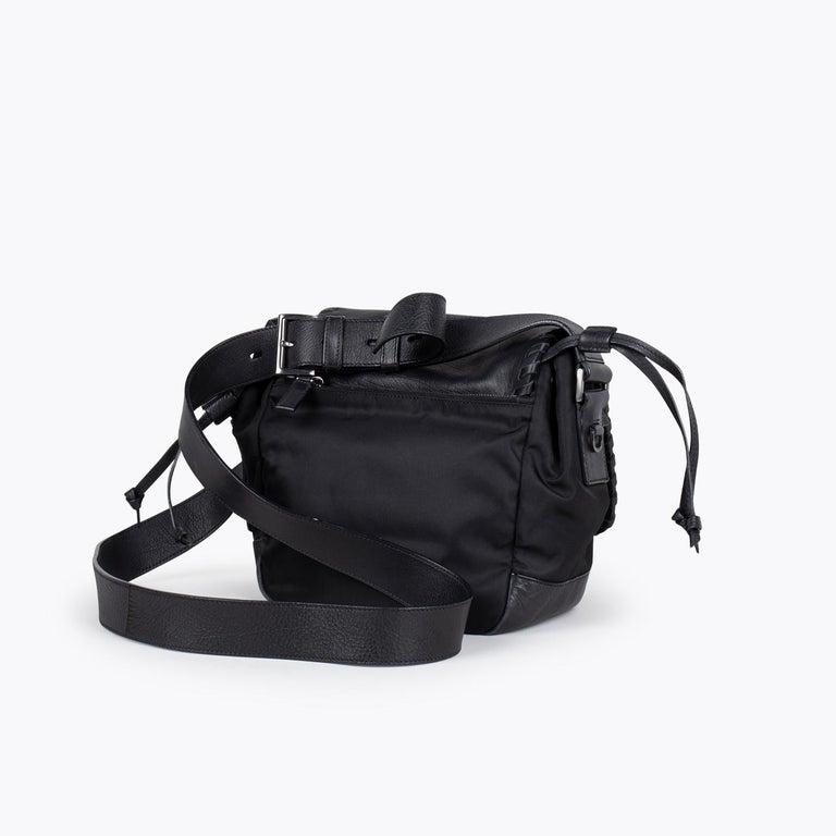 Prada Tessuto Calf Crossbody Bag In Good Condition In Sundbyberg, SE