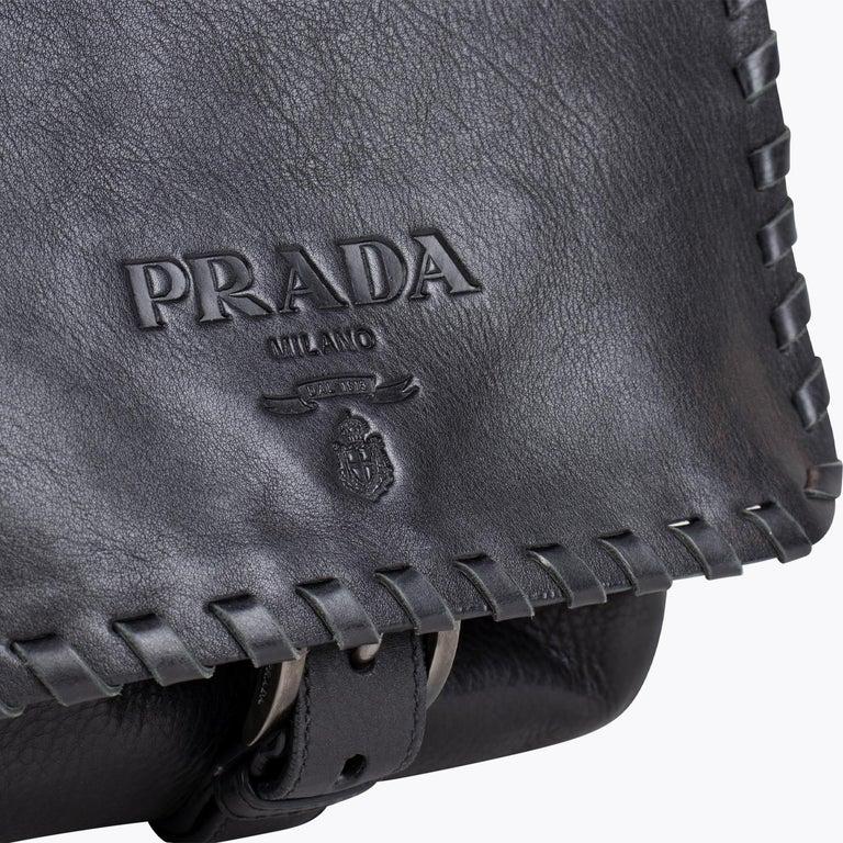 Prada Tessuto Calf Crossbody Bag 3