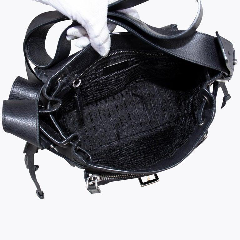 Prada Tessuto Calf Crossbody Bag 4