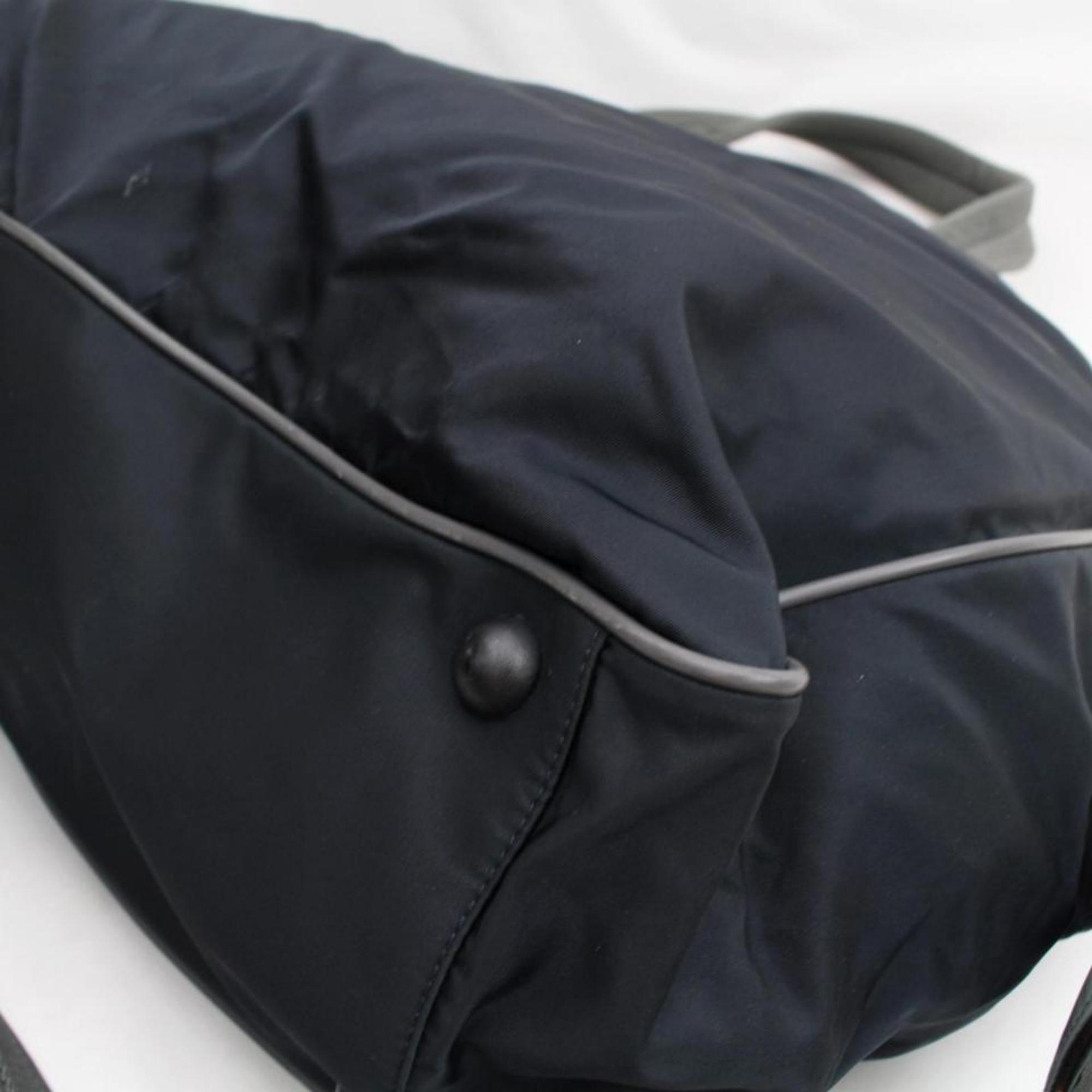 d75c39726e29 Prada Tessuto Sports 2way 868066 Black Nylon Weekend/Travel Bag For Sale at  1stdibs