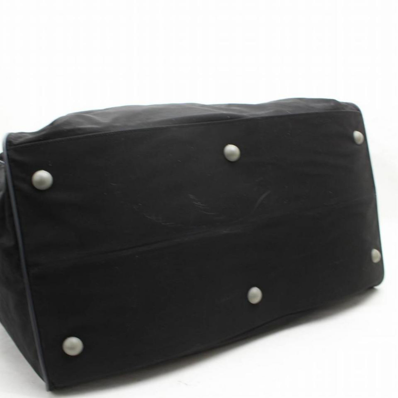 a1a7afb2bdfc Prada Tessuto Sports 2way 868415 Black Nylon Weekend/Travel Bag For Sale at  1stdibs
