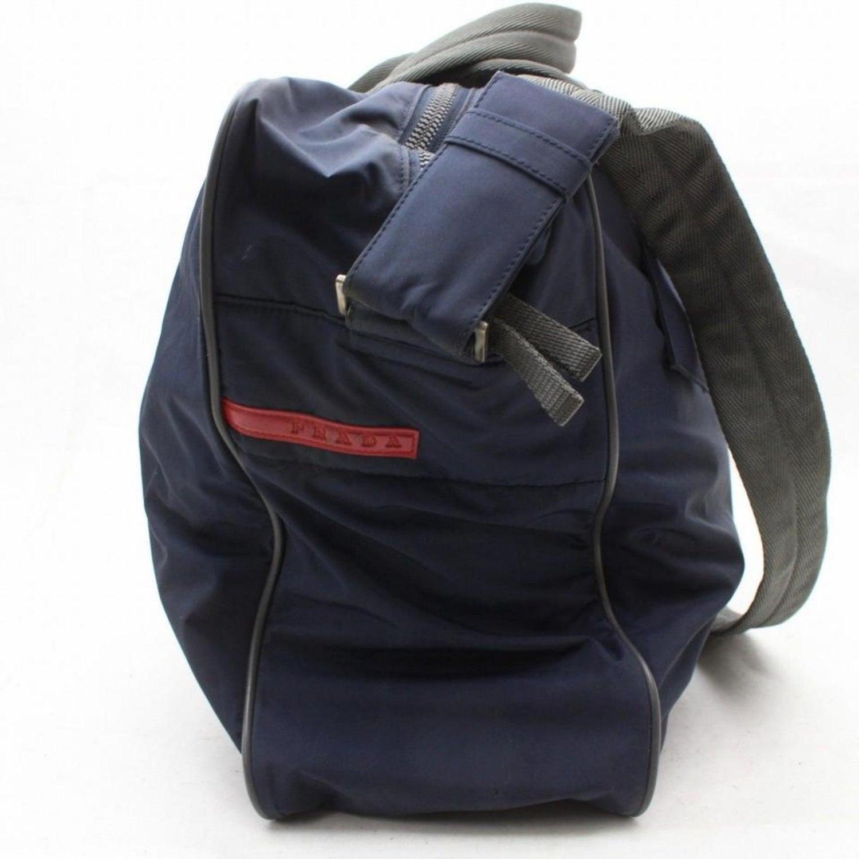 f9512920256b Prada Tessuto Sports Duffle 2way 869246 Black Nylon Weekend/Travel Bag For  Sale at 1stdibs