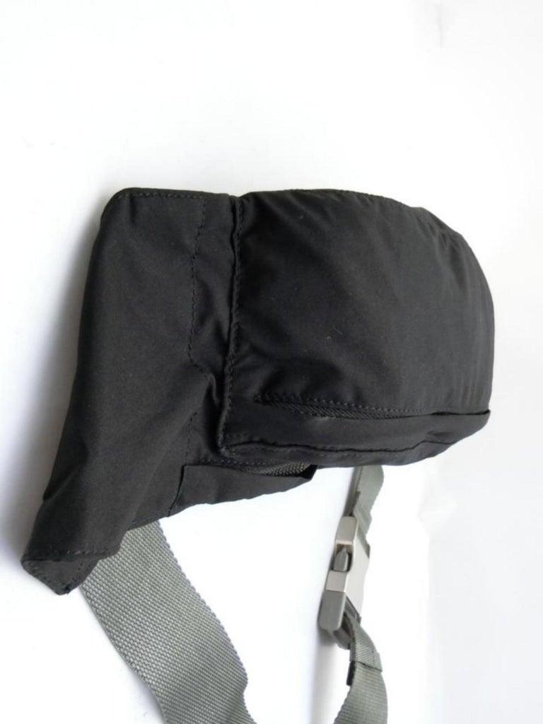 1aa77ea0c9e4 Women s Prada Tessuto Sports Fanny Pack Waist Pouch 231475 Black Nylon  Cross Body Bag For Sale