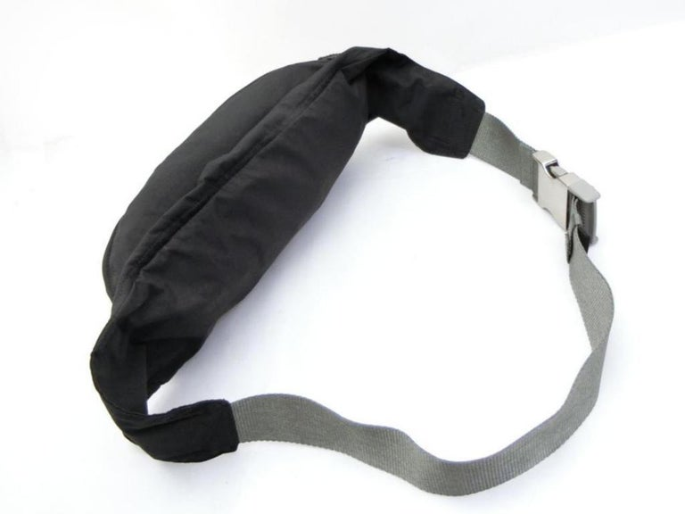 d4e0cd01e112 Prada Tessuto Sports Fanny Pack Waist Pouch 231475 Black Nylon Cross Body  Bag For Sale 2