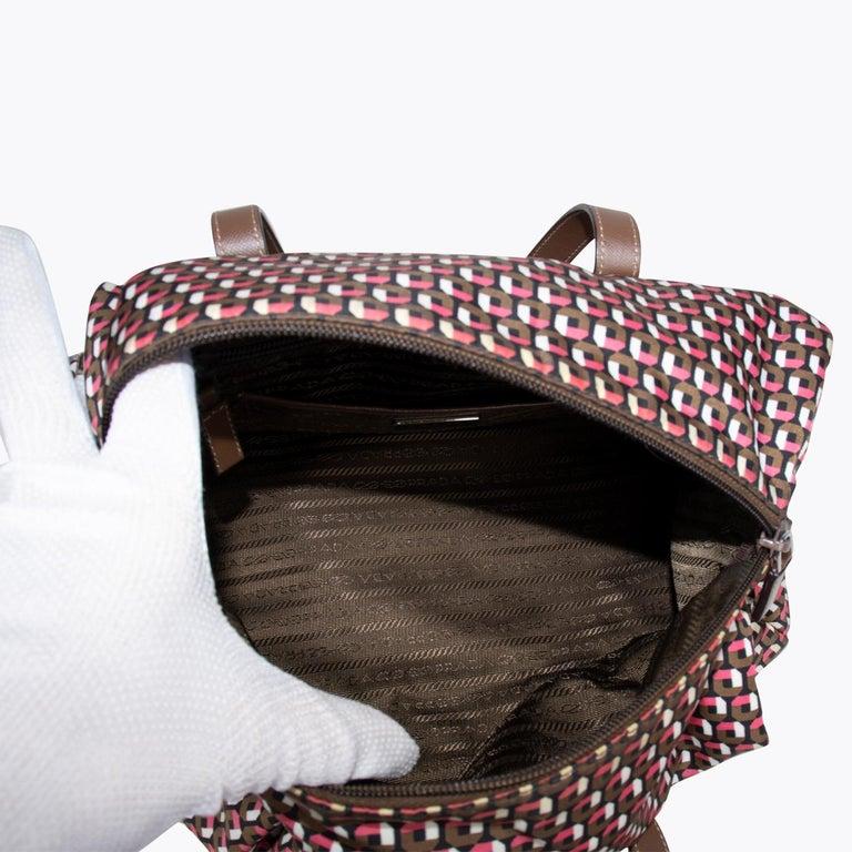 Prada Tessuto Stampat Bag For Sale 5