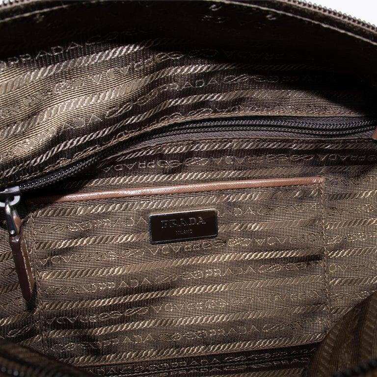 Prada Tessuto Stampat Bag For Sale 6