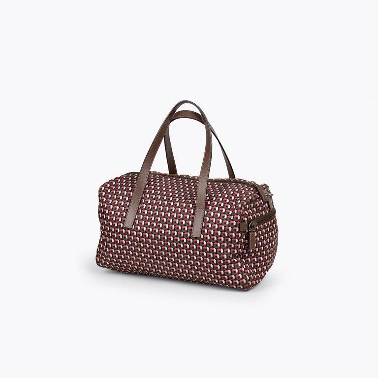 Prada Tessuto Stampat Bag In Good Condition For Sale In Sundbyberg, SE