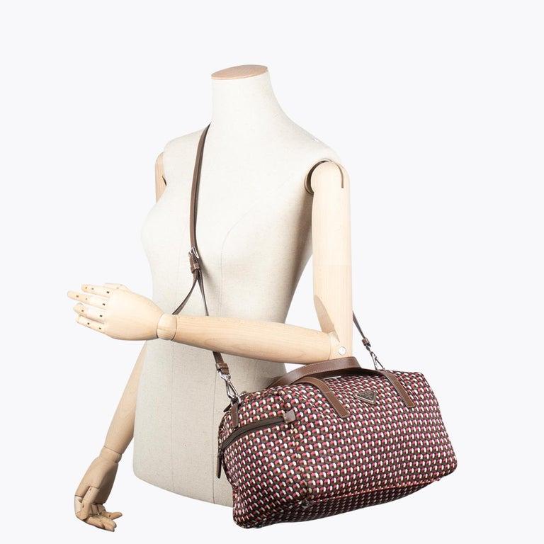 Prada Tessuto Stampat Bag For Sale 1
