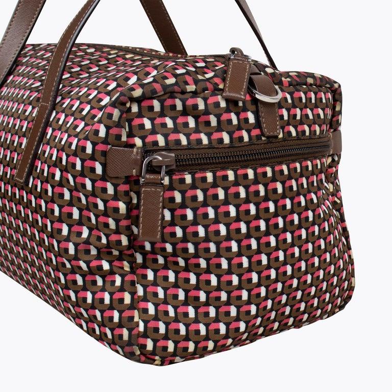 Prada Tessuto Stampat Bag For Sale 3