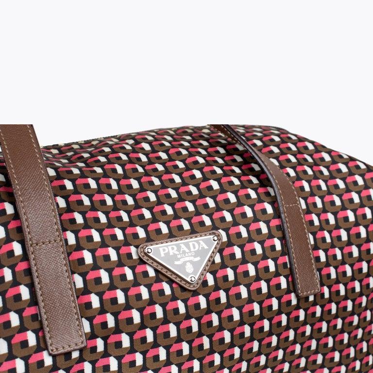 Prada Tessuto Stampat Bag For Sale 4