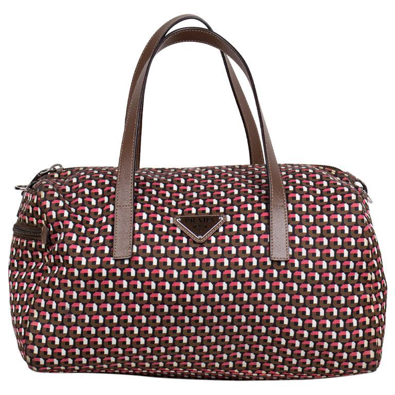 Prada Tessuto Stampat Bag For Sale