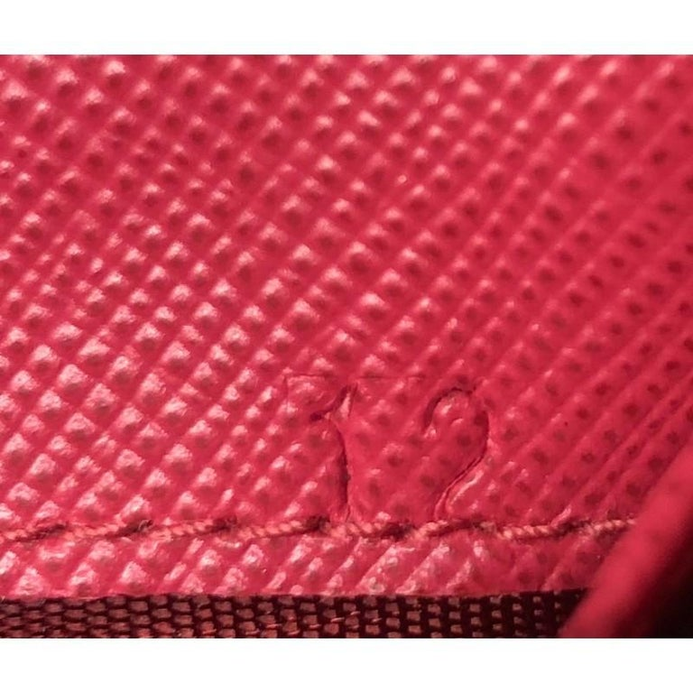 Prada Wallet Crossbody Saffiano Leather For Sale 1