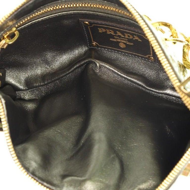 Prada Whips Pietre Shoulder Bag Embelished Snakeskin Medium For Sale 1