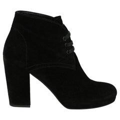 Prada Woman Ankle boots Black EU 36