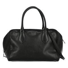 Prada Woman Handbag Black, Blue