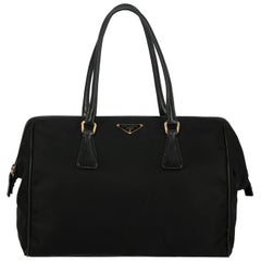 Prada Woman Handbag Black