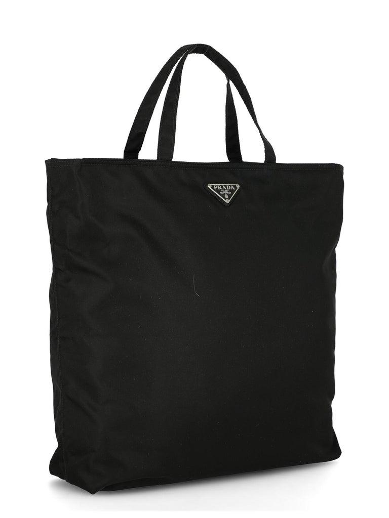 Prada Woman Handbag  Black Synthetic Fibers In Excellent Condition In Milan, IT
