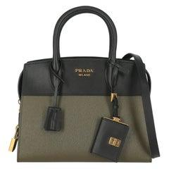 Prada Woman Handbag Esplanade Black Leather