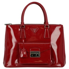 Prada Woman Handbag  Red Leather