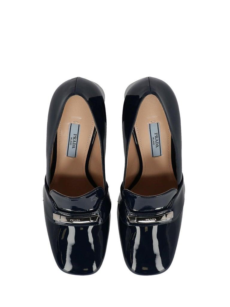 Women's Prada Woman Loafers Navy EU 38