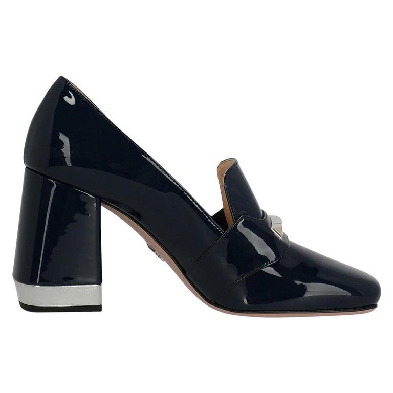 Prada Woman Loafers Navy EU 38