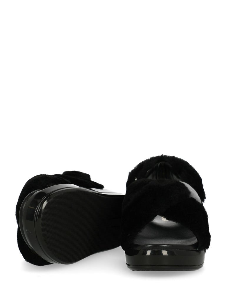 Prada Woman Sandals Black, Grey, White IT 36 For Sale 1