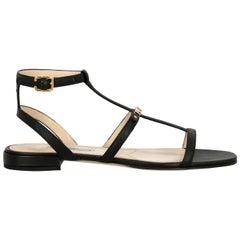 Prada Woman Sandals Black IT 39