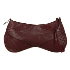 Prada Woman Shoulder bag Burgundy Leather